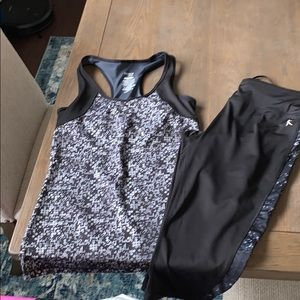 Danskin Workout Outfit